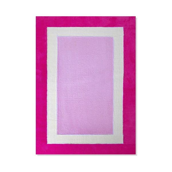 Detský koberec Mavis Pink Mix, 100x150 cm