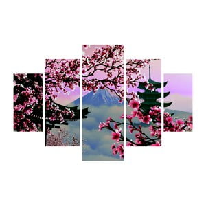 Viacdielny obraz Japan View, 92×56 cm