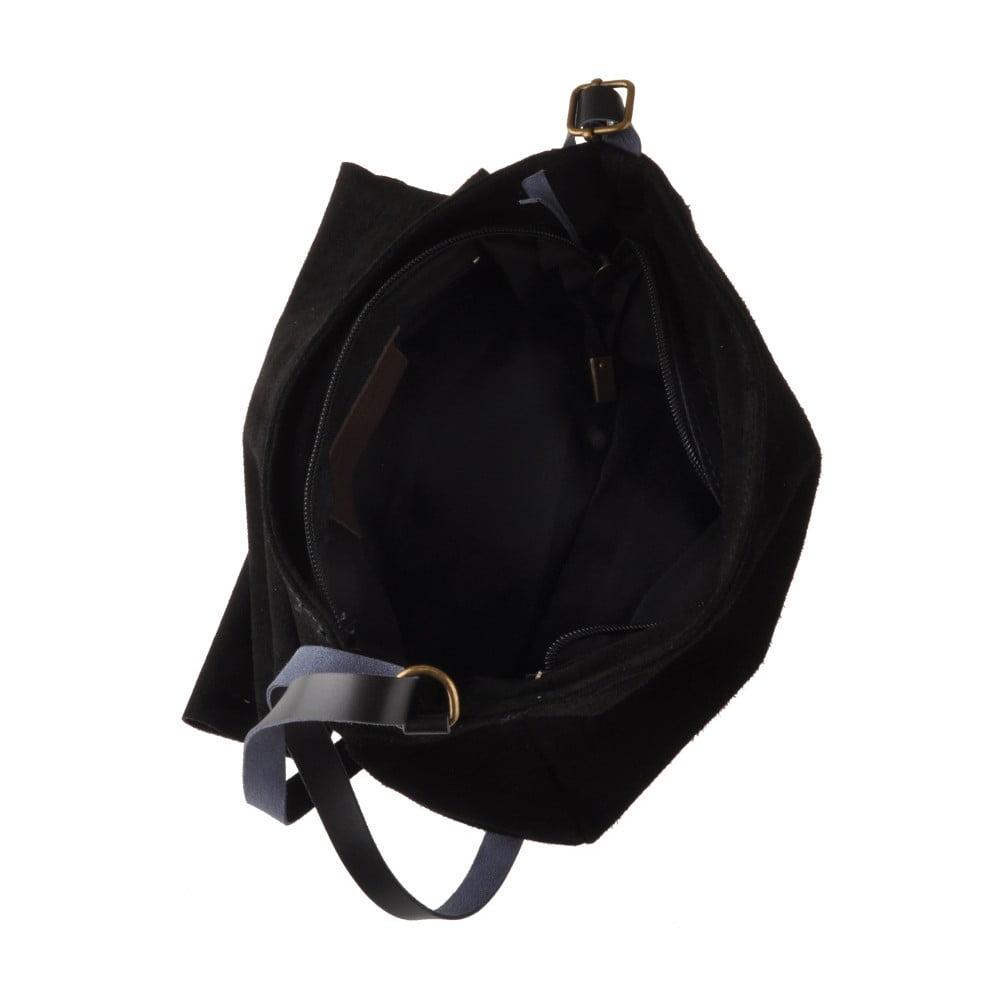 Čierna kožená kabelka Ore Diece New York ... 94c22995179