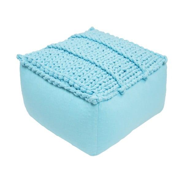 Detský modrý sedací pufík Nattiot Neo