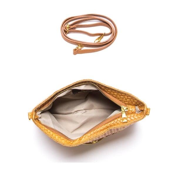 Kožená kabelka Maribel, koňak