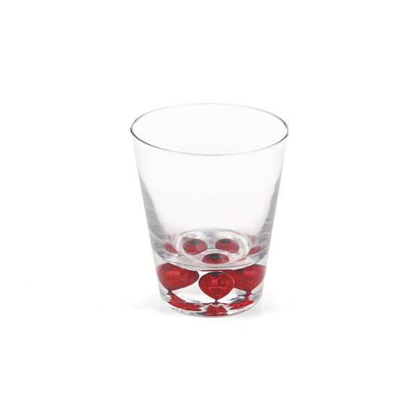 Set 6 ks pohárov Fade Rosso