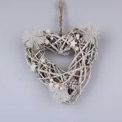 Drevené závesné srdce Dakls