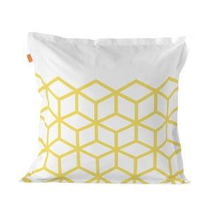 Bavlnená obliečka na vankúš Blanc Symmetry, 60 × 60 cm