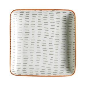 Sada 6 servírovacích tanierov Culinary Delight Pattern, 12,5×12,5 cm