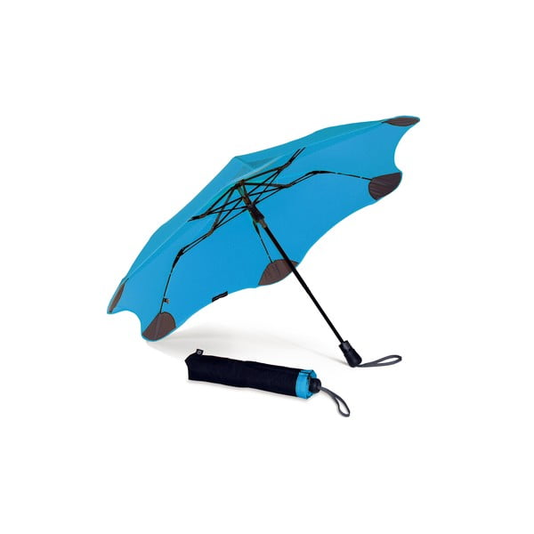 Vysoko odolný dáždnik Blunt XS_Metro 95 cm, modrý