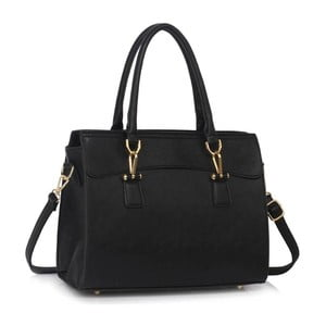 Čierna kabelka L&S Bags Paulina