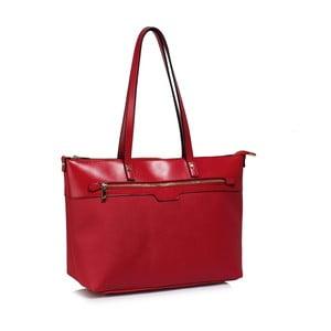 Červená kabelka L&S Bags Grab
