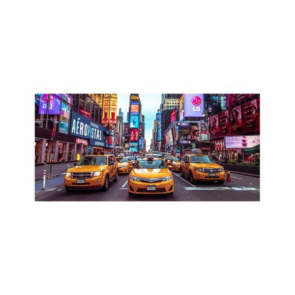 Obraz Yellow Cabs, 55x115 cm