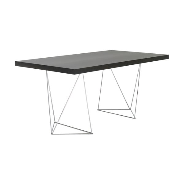 Pracovný/jedálenský stôl Trestle, dĺžka 160cm, dekor wenge