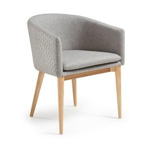 Sivá jedálenská stolička La Forma Harmon