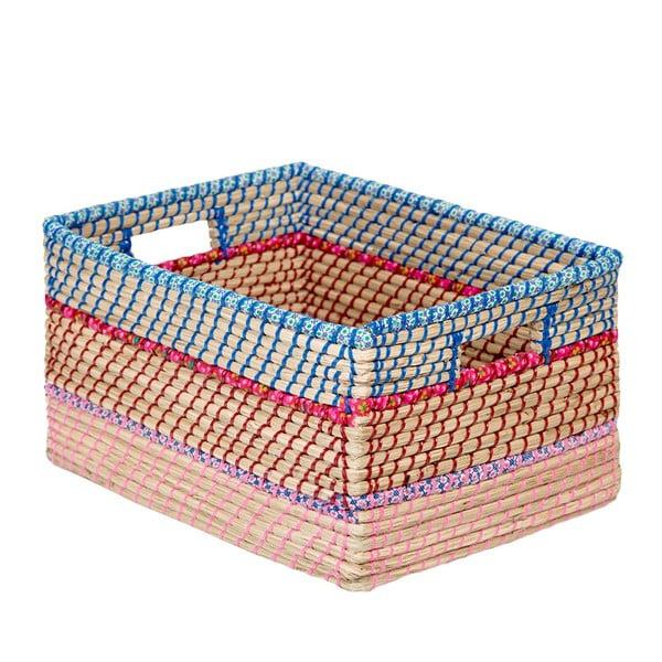 Ručne vyrábaný košík z morskej trávy a'miou home Harve, šírka 42 cm