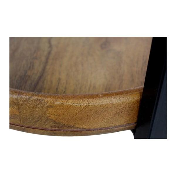Odkladací stolík z mangového dreva HSM collection Ediash, Ø 35 cm