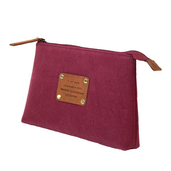 Toaletná taštička O My Bag Trippy, burgundy