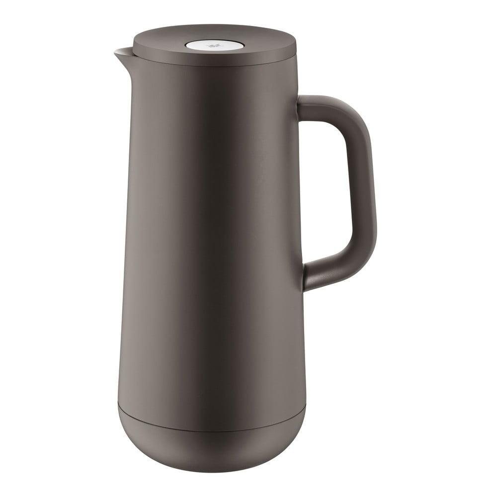 Antikoro termoska v sivohnedej farbe WMF Cromargan® Impulse Plus, 1 l