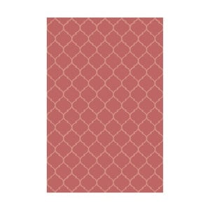 Vinylový koberec Reticular Rojo, 133x200 cm