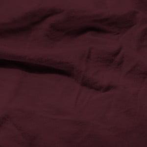 Bordová elastická plachta Homecare, 80-100 x 200 cm