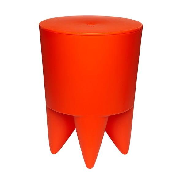 Univerzálny stolík/kôš/chladič na ľad Bubu, oranžový
