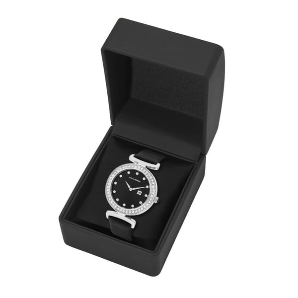 Dámske hodinky Levanger Black/Silver