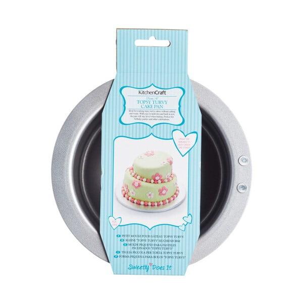 Atypická forma na tortu Kitchen Craft Sweetly Does It, 15 cm
