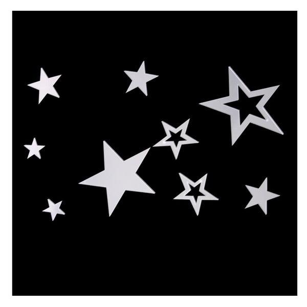 Dekoratívne samolepky Stars Mirror