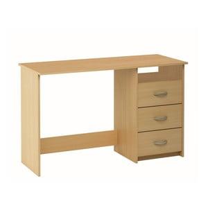 Pracovný stôl, dekor bukové drevo  Aristote