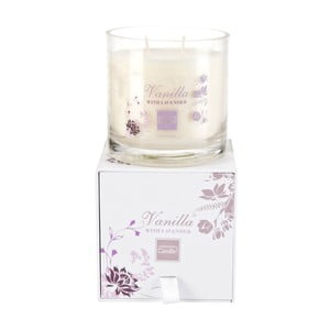 Aróma sviečka Vanilla & Lavender Medium, doba horenia 50 hodín