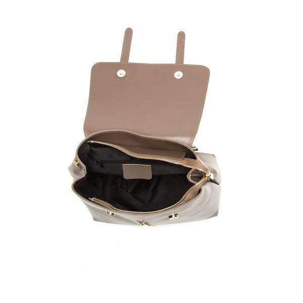 Hnedý kožený batoh Sofia Cardoni Noemi Fango