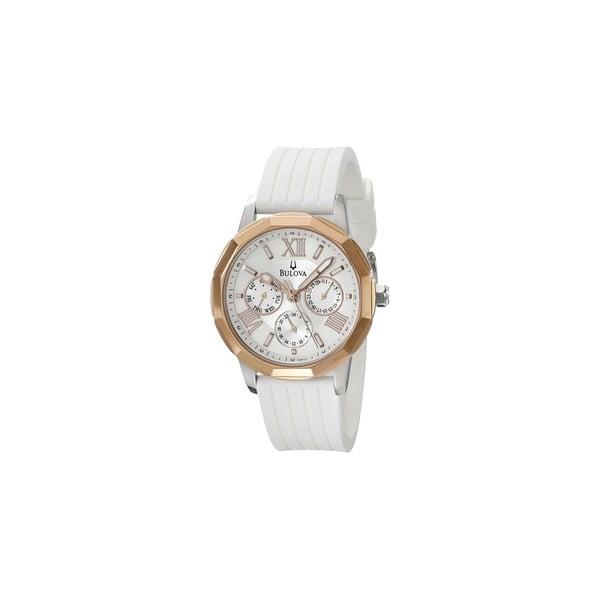 Dámske hodinky Bulova 98101 White/Grey