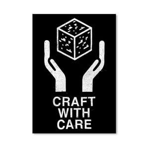 Plagát Craft With Care 2 od Florenta Bodart, 30x42 cm