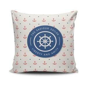 Vankúš s prímesou bavlny Cushion Love Ragido, 45 × 45 cm