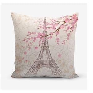 Obliečka na vankúš s prímesou bavlny Minimalist Cushion Covers Eiffel, 45×45 cm