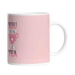 Keramický hrnček My Cup of Tea, 330 ml