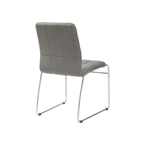 Jedálenská stolička Kid, šedá