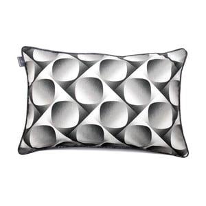 Sivá obliečka na vankúš WeLoveBeds 3D, 40×60 cm