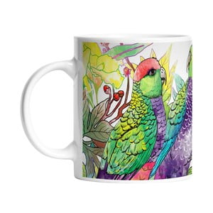 Keramický hrnček Parrot Talking, 330 ml