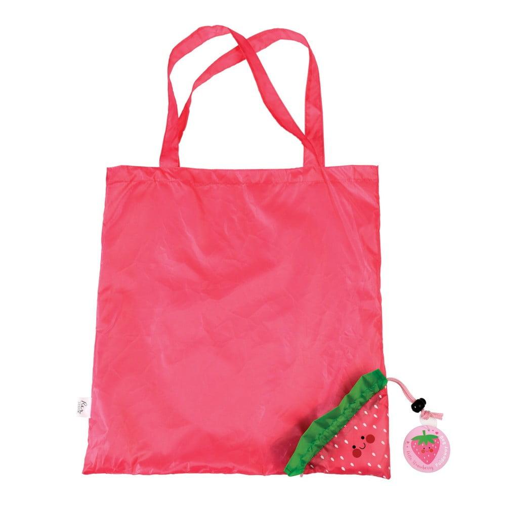 Skladacia nákupná taška Rex London Strawberry