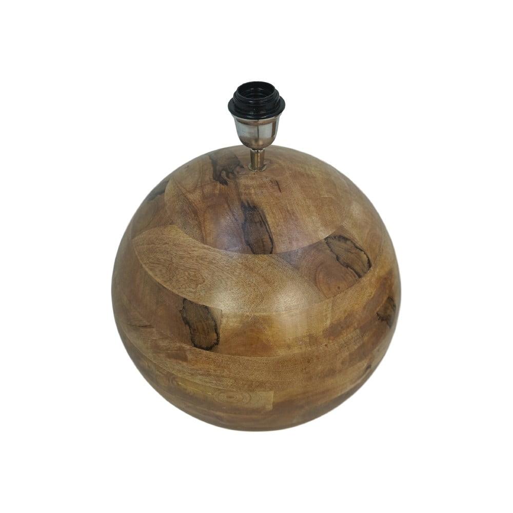 Stolová drevená lampa HMS collection Timber, ⌀ 40 cm