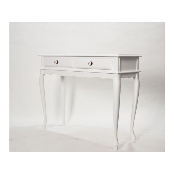 Konzolový stolek Terra White, 100x38x81 cm