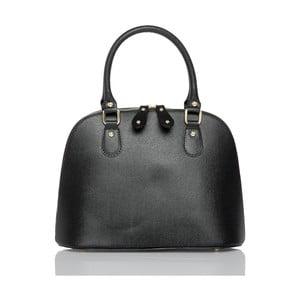 Čierna kožená kabelka Glorious Black Marge