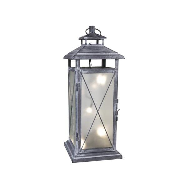 LED lampáš Stallis 45 cm, sivý