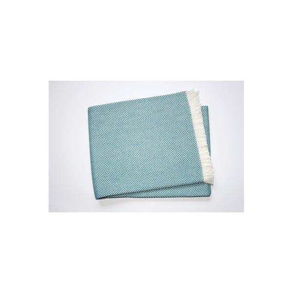 Ľahká deka Skyline Ocean Blue, 140x250 cm