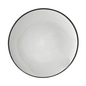 Čierny jedálenský tanier Price & Kensington Cosmos, 26,5 cm