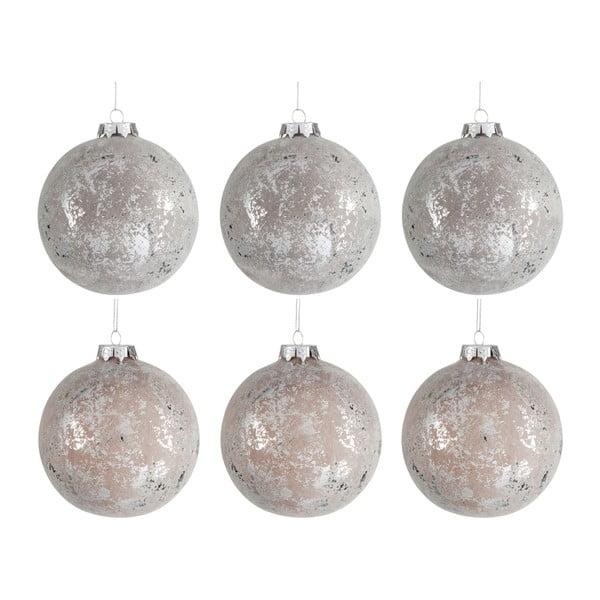 Sada 6 vianočných ozdôb Bauble, Ø10cm