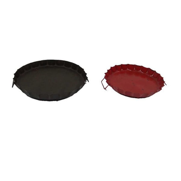 Set podnosov Rouge et antique, 2 ks