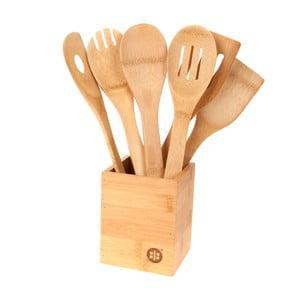 Stojanček so 6 kuchynskými nástrojmi Bamboo