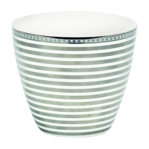 Hrnček Green Gate Stripe Silver, 300 ml