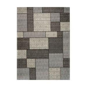 Koberec Patchwork 1 Dark Grey, 62x124 cm