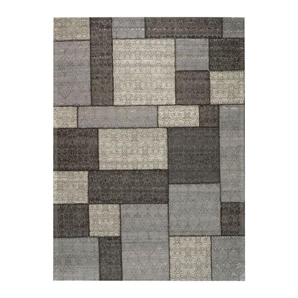 Koberec Patchwork 1 Dark Grey, 140x200 cm
