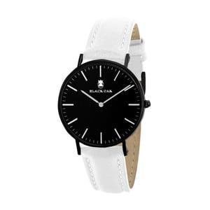 Čierno-biele dámske hodinky Black Oak Crown